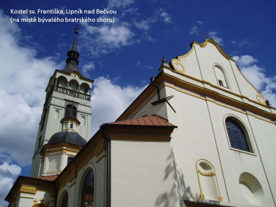 Kostel sv. Františka, Lipník nad Bečvou (na místě bývalého bratrského sboru)