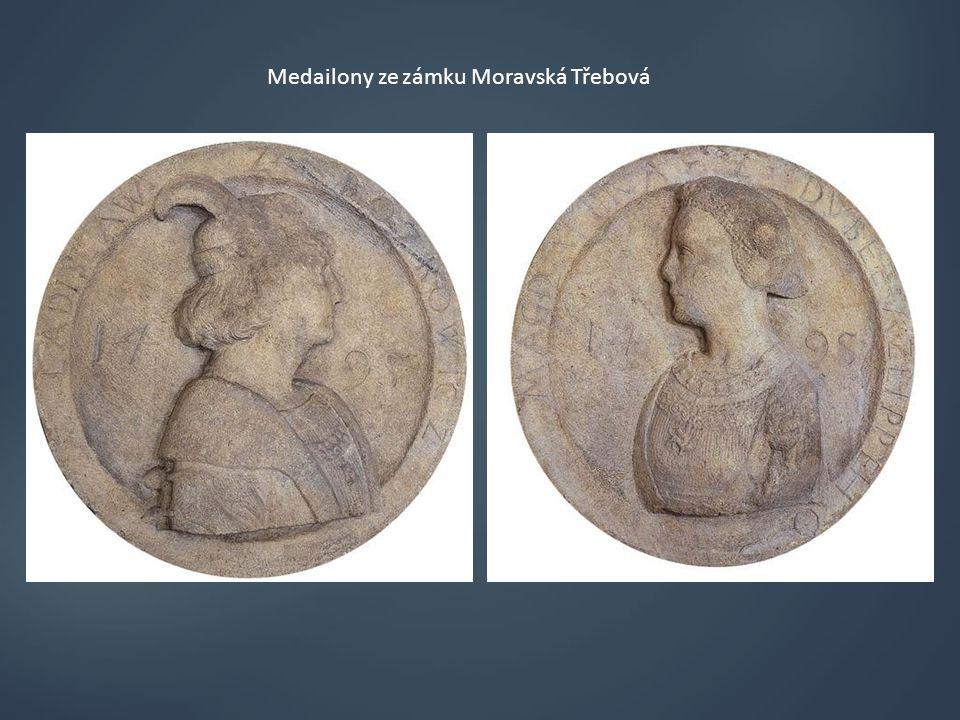 Medailony ze zámku Moravská Třebová