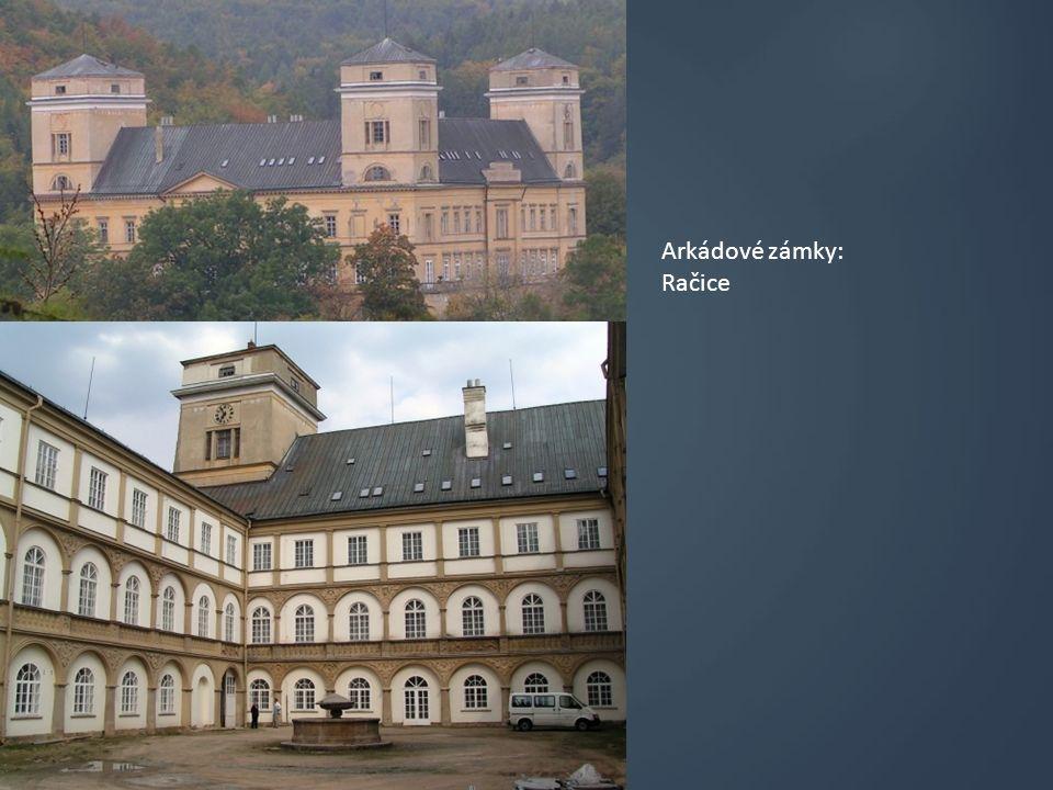 Arkádové zámky: Moravský krumlov