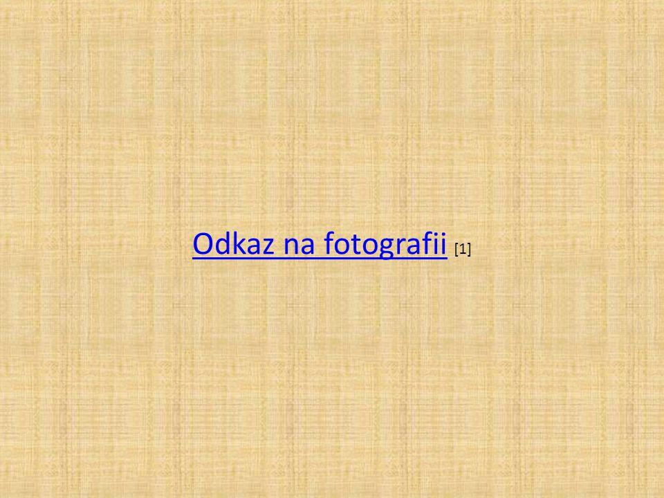Odkaz na fotografiiOdkaz na fotografii [1]