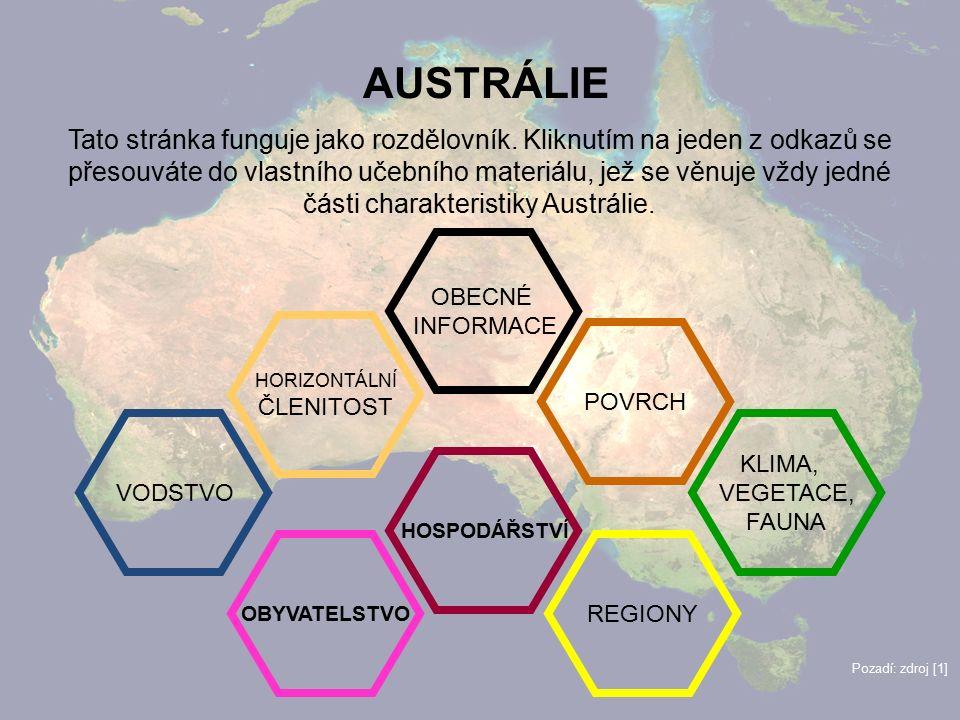 3 AUSTRÁLIE Tato stránka funguje jako rozdělovník.