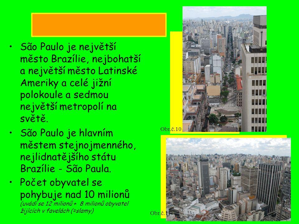 São Paulo je největší město Brazílie, nejbohatší a největší město Latinské Ameriky a celé jižní polokoule a sedmou největší metropolí na světě. São Pa