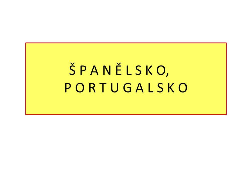 Jižní Evropa  Španělsko, Portugalsko – Pyrenejský poloostrov,  Itálie – Apeninský poloostrov,  Řecko – Balkánský poloostrov,  Malé státy – Andorra, Monako, San Marino, Vatikán  Ostrovní státy – Malta a Kypr  Velké státy – členy EU  Turisticky nejvyhledávanější regiony na světě.