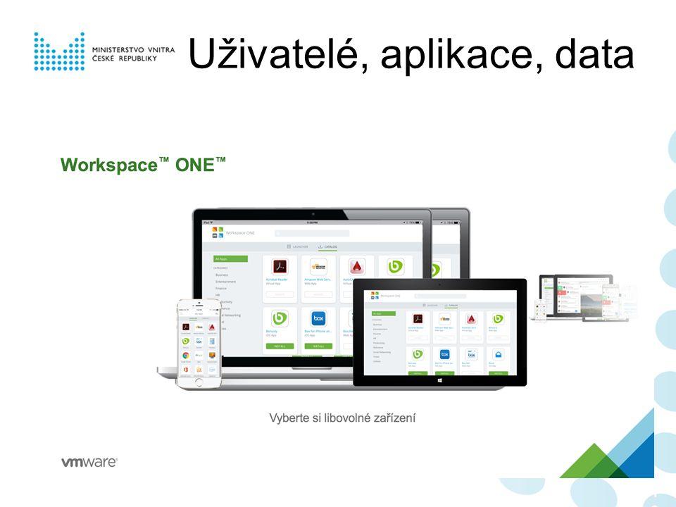 Uživatelé, aplikace, data 106106106