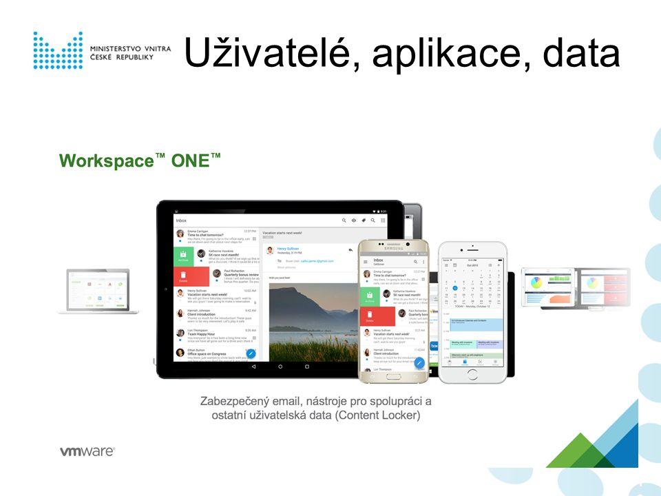Uživatelé, aplikace, data 107107107