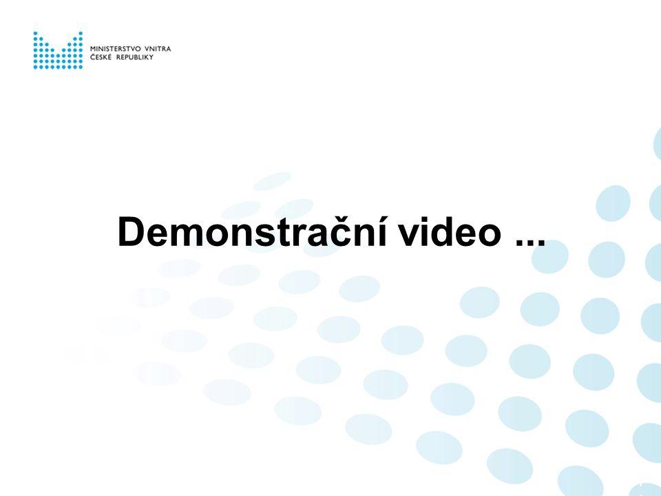 Demonstrační video... 110110110