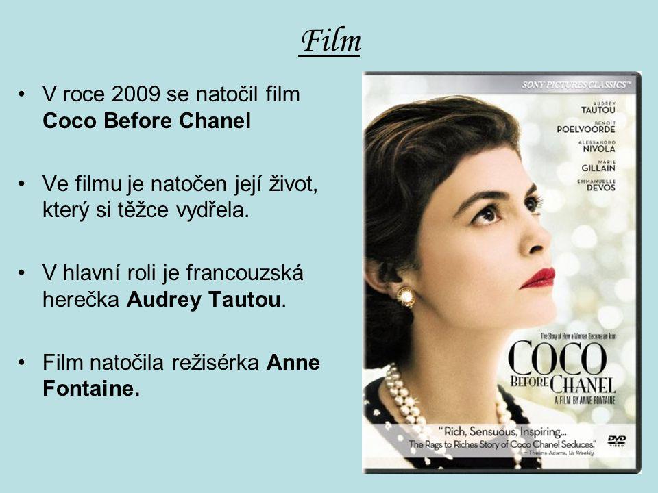 Film V roce 2009 se natočil film Coco Before Chanel Ve filmu je natočen její život, který si těžce vydřela.