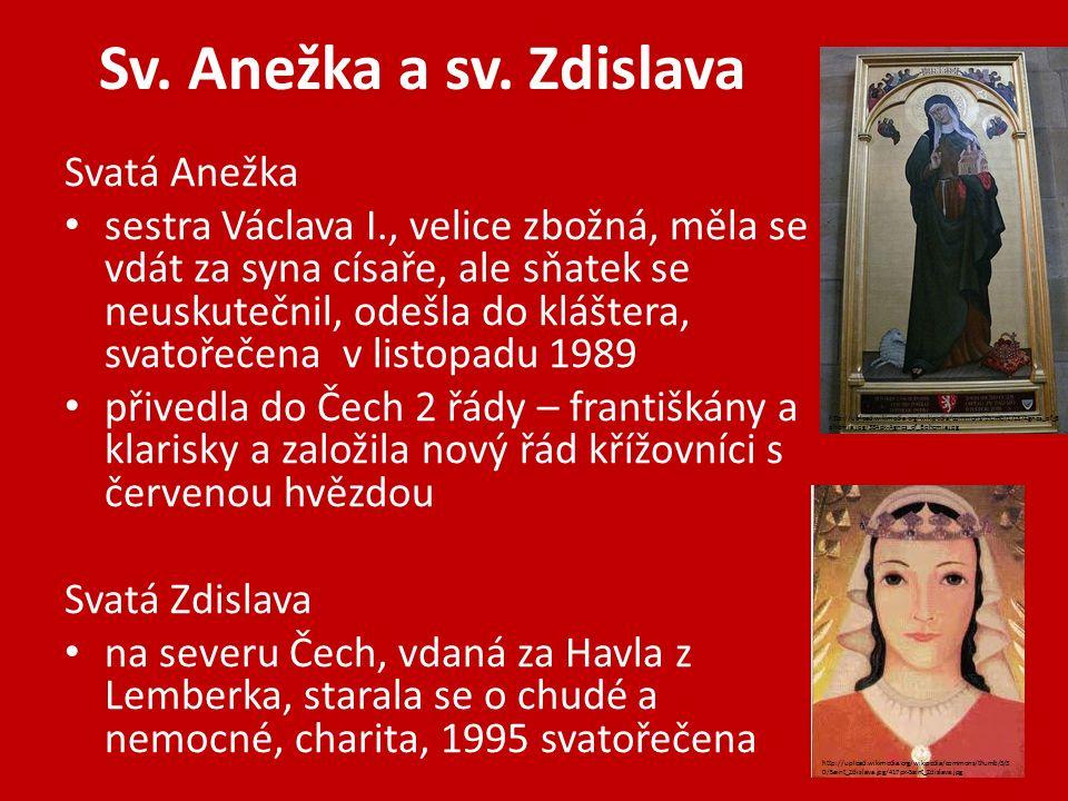 Sv. Anežka a sv.