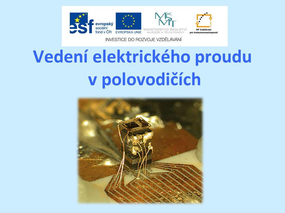 Vedení elektrického proudu v polovodičích