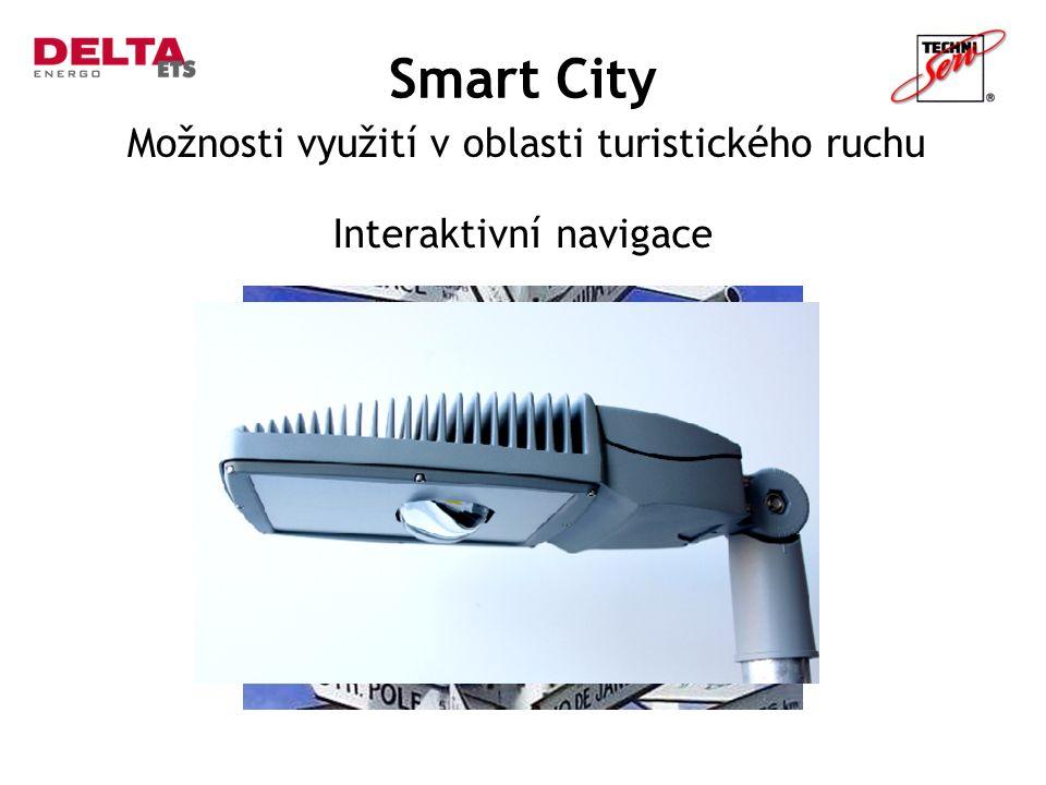 Smart City Možnosti využití v oblasti turistického ruchu Interaktivní navigace