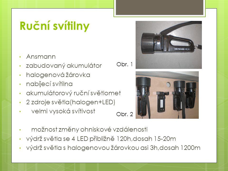 Ruční svítilny Ansmann zabudovaný akumulátor halogenová žárovka nabíjecí svítilna akumulátorový ruční světlomet 2 zdroje světla(halogen+LED) velmi vys