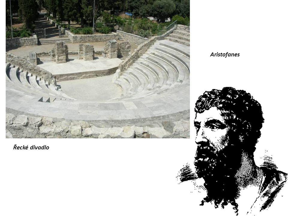 Řecké divadlo Aristofanes