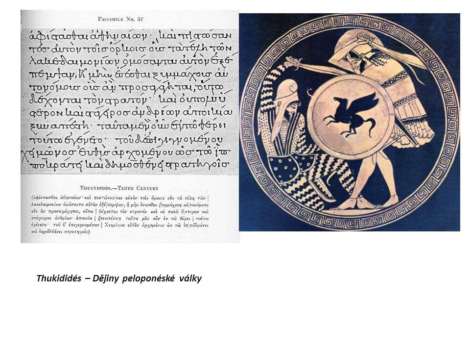Thukididés – Dějiny peloponéské války