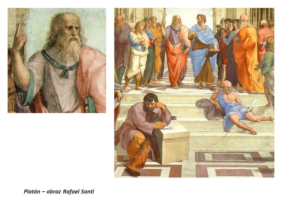 Platón – obraz Rafael Santi