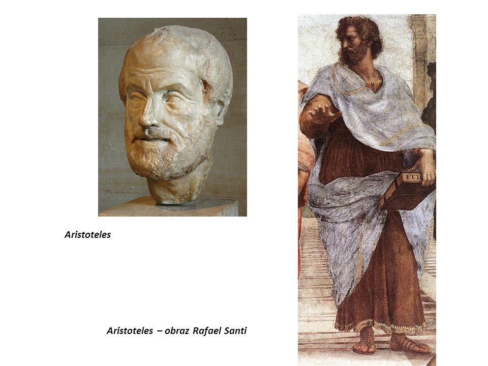 Aristoteles Aristoteles – obraz Rafael Santi