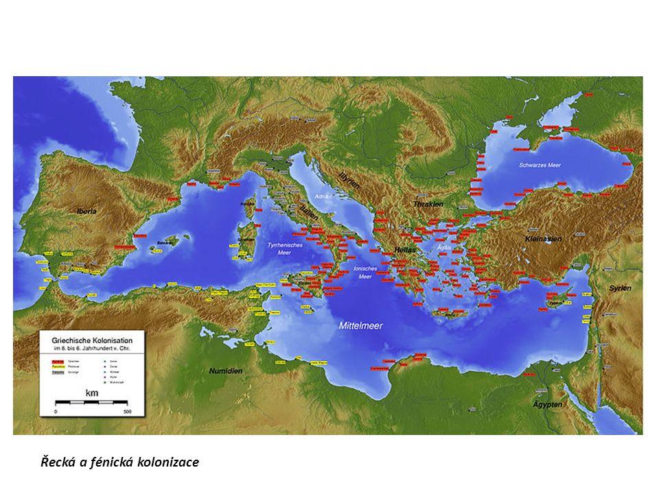 Řecká a fénická kolonizace