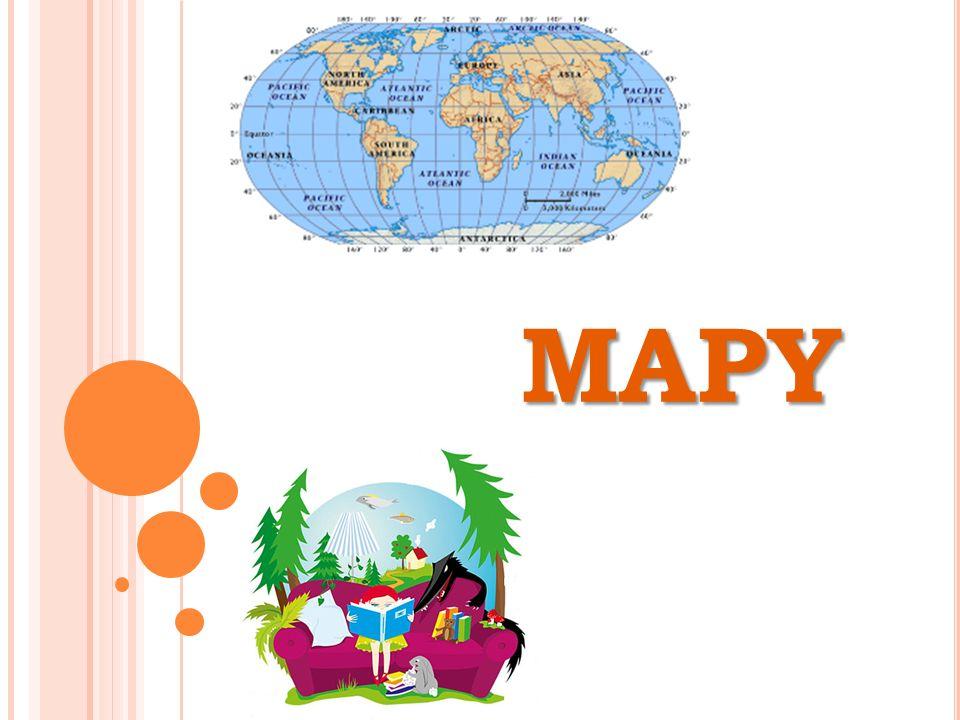 MAPY TURISTICKÉ A VLASTIVĚDNÉ každá mapa má název, který informuje o znázorňovaném místu nebo území podle názvu poznáme, k jakému účelu mapa slouží turisté obvykle používají mapy turistické motoristé obvykle používají automapy k vlastivědným účelům se používají mapy vlastivědné, najdeme v nich informace o městech, hradech, řekách, zámcích a dalších místech rozsáhlá území (státy, světadíly nebo celý svět) zobrazují obecně zeměpisné mapy - najdeme je ve školních atlasech