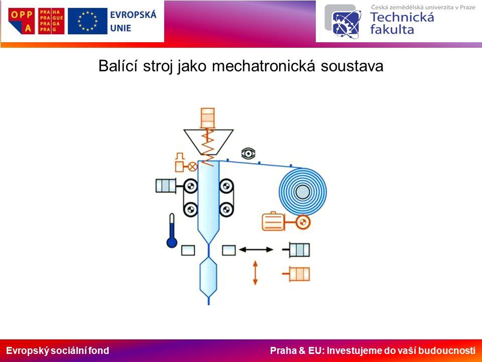 Evropský sociální fond Praha & EU: Investujeme do vaší budoucnosti Balící stroj jako mechatronická soustava