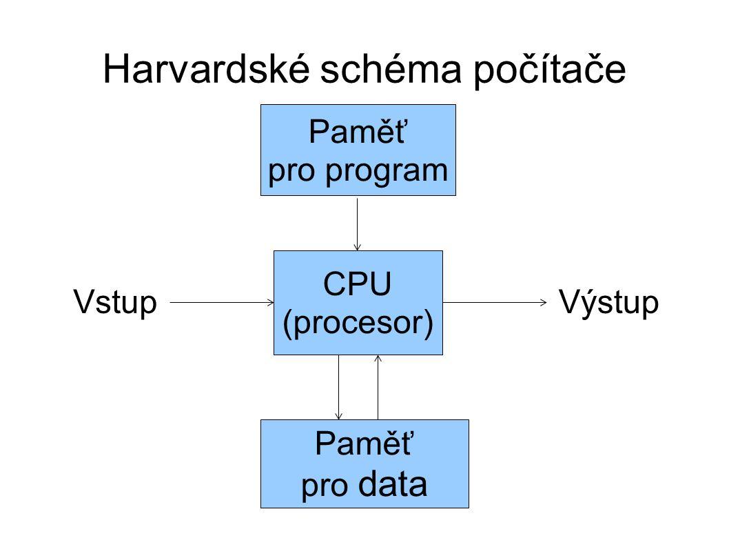 """Jiná schémata počítačů ● multiprocesory ● více CPU na základní desce, jedna paměť – NUMA (AMD) → každý CPU """"vlastní paměť ● dříve více fyzických CPU, dnes více jader ● multipočítače ● více počítačů, CPU mají různou paměť ● vytvářejí se z nich clustery ● dnes nevyhraněné schéma ● řadič DMA (ISA), BusMaster (PCI) – přenosy mezi pamětí na I/O bez účasti CPU ● ochrana paměti, NX bit, logické členění prostoru"""