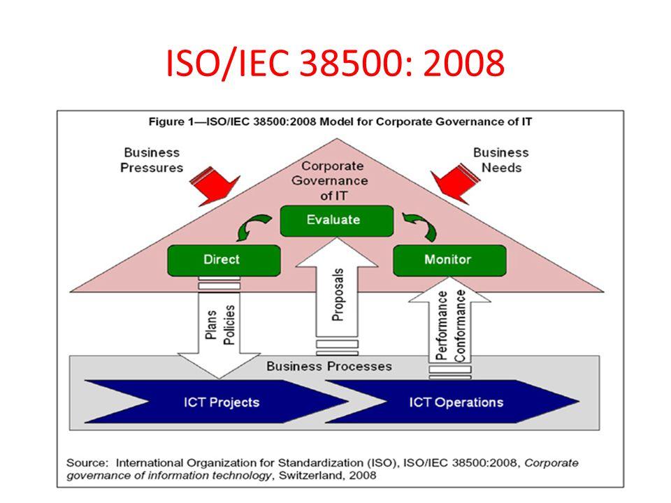 ISO/IEC 38500: 2008