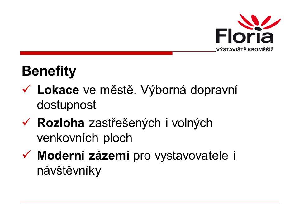 Celostátní a mezinárodní projekty Pěstitelské výstavy Floria Floria Bonsai Chovatelské výstavy (drobná zvířata) Zemědělské výstavy (zvířata, technika) Veletrh Thermo a bydlení Veletrh gastro a cestovního ruchu