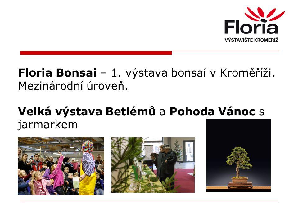 Floria Bonsai – 1. výstava bonsaí v Kroměříži. Mezinárodní úroveň.