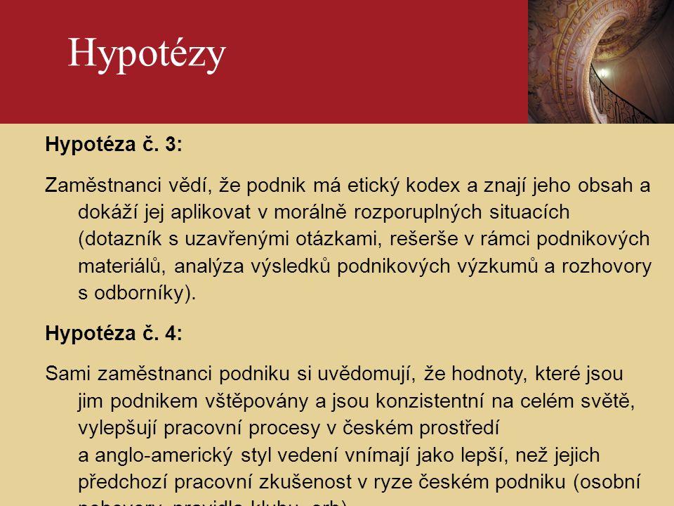 Úvod 7 Ověření hypotéz