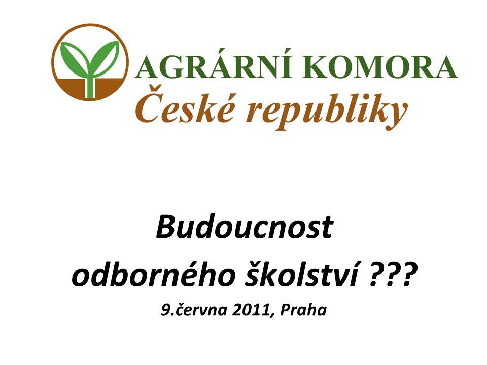 Budoucnost odborného školství ??? 9.června 2011, Praha