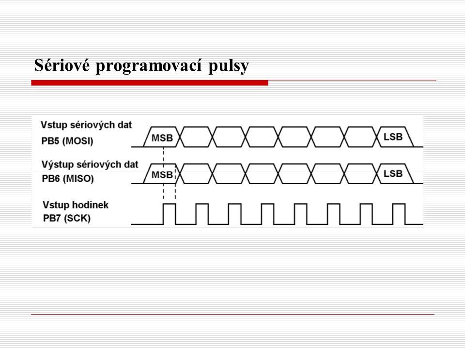 Sériové programovací pulsy