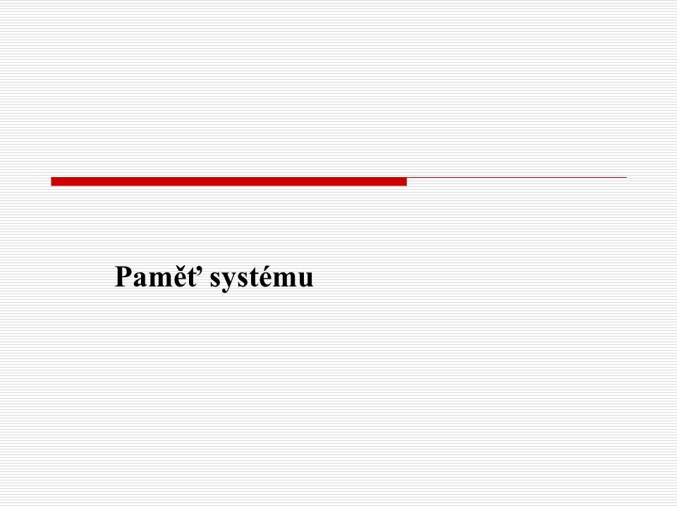 Paměť systému