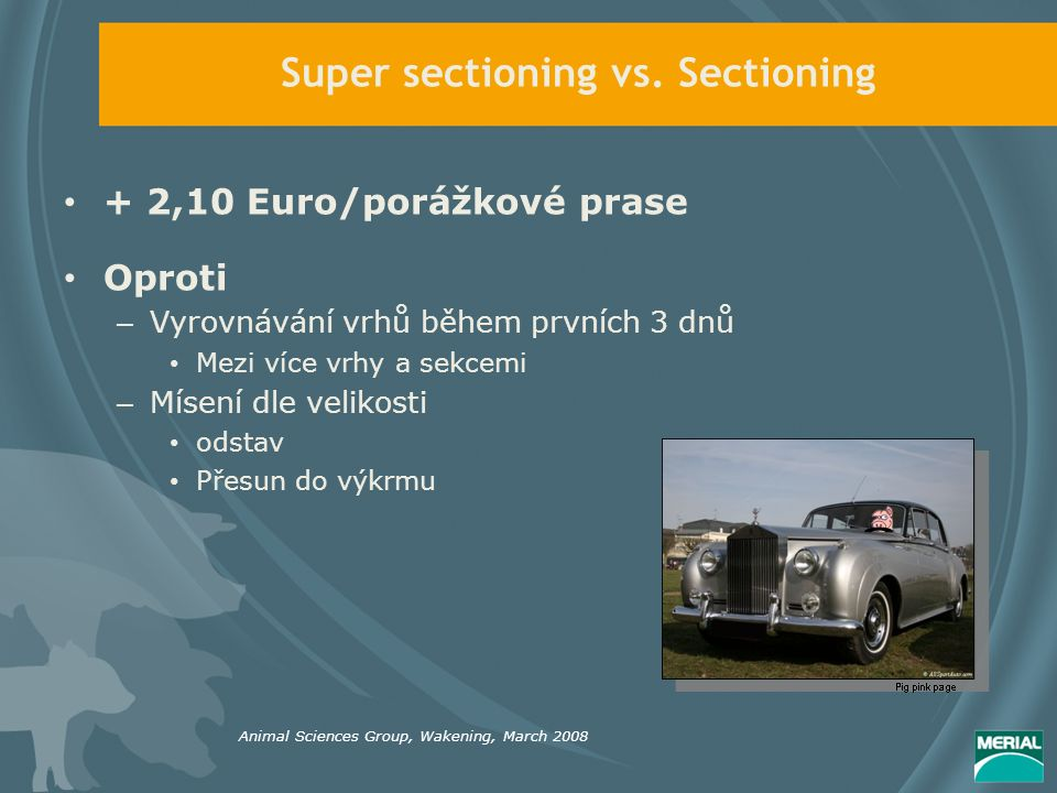 Super sectioning vs.