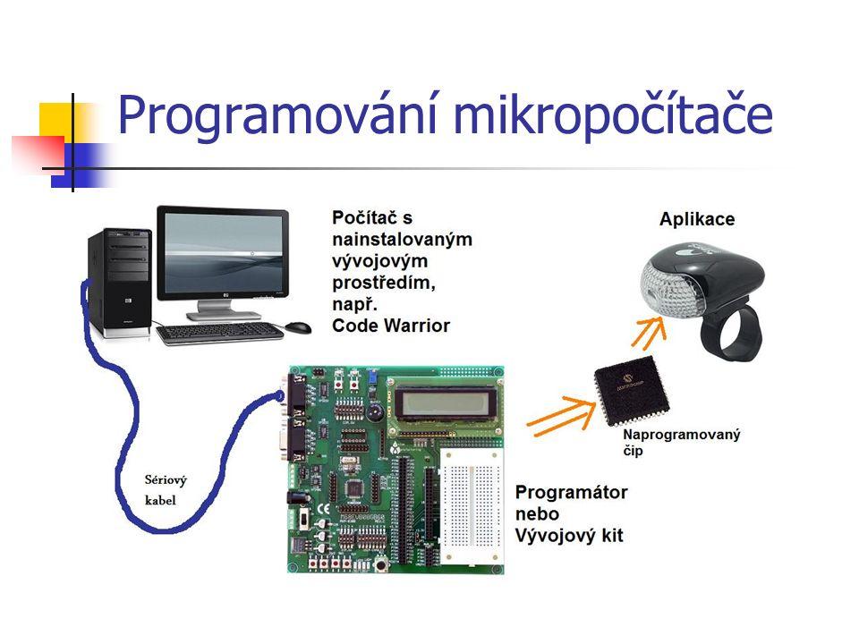Programování mikropočítače