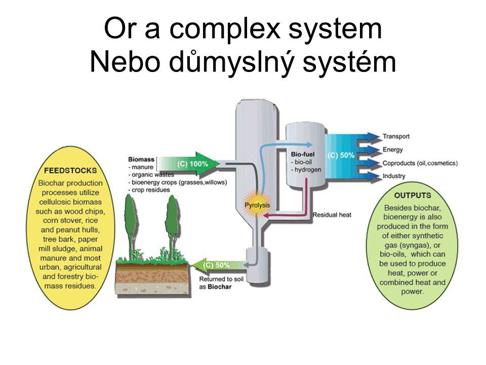 Or a complex system Nebo důmyslný systém