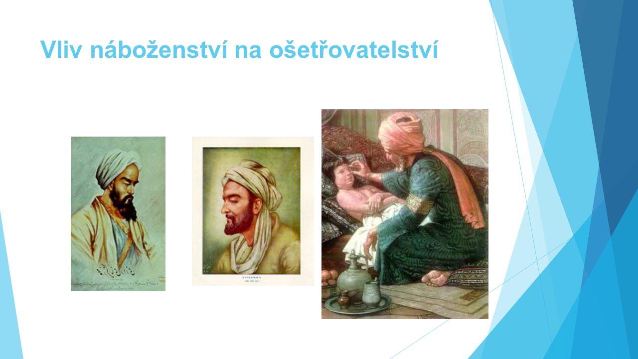 Vliv náboženství na ošetřovatelství