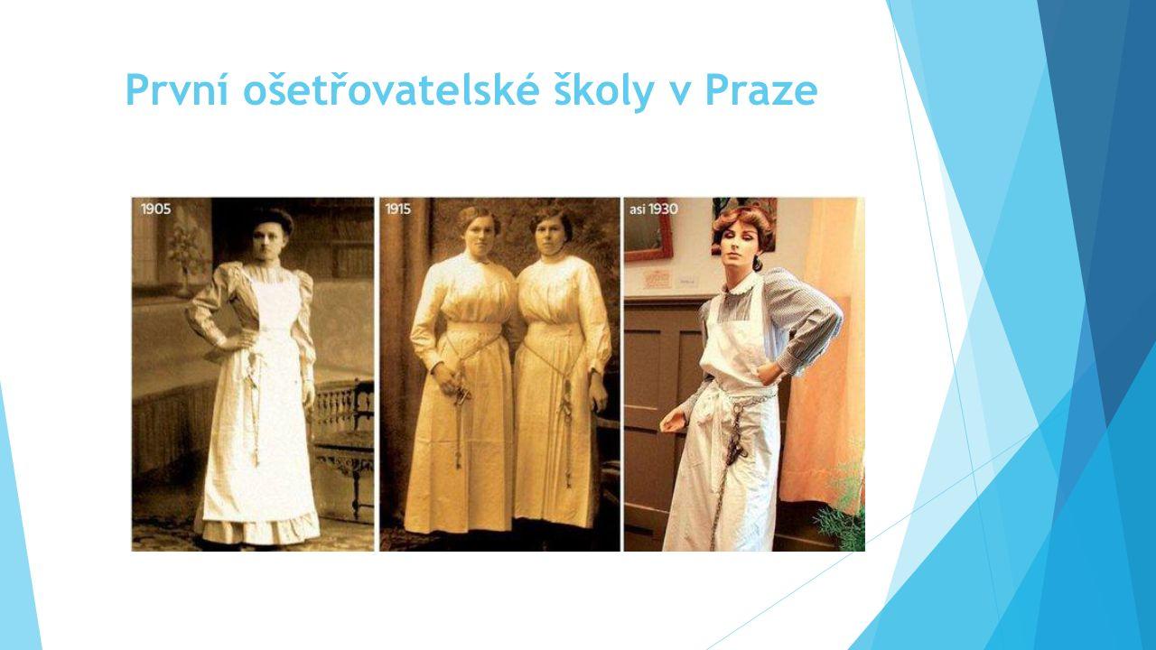 První ošetřovatelské školy v Praze