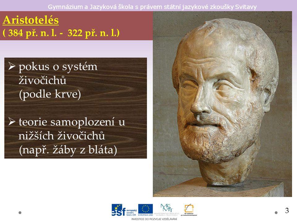 Gymnázium a Jazyková škola s právem státní jazykové zkoušky Svitavy Claudius Galenus (Galénos) (129 n.l.