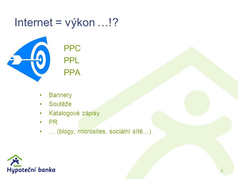 Internet = výkon …!.