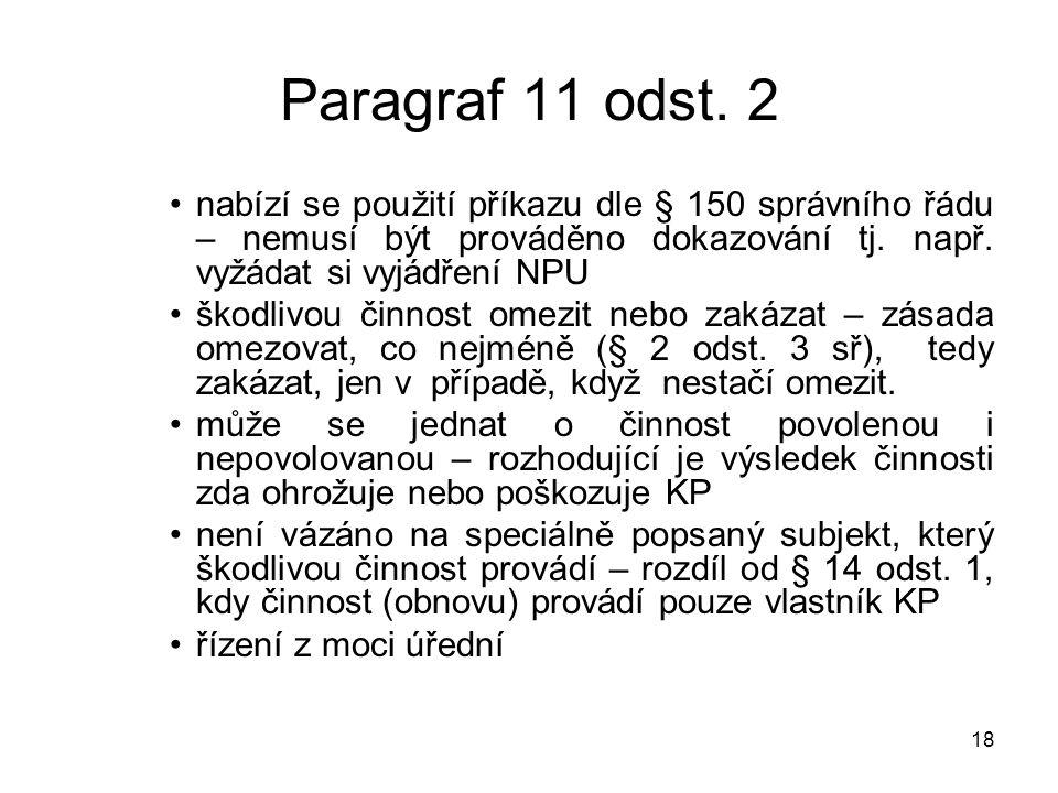 18 Paragraf 11 odst.