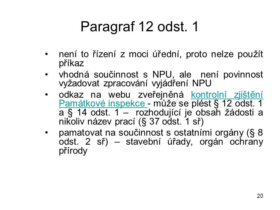21 Paragraf 12 odst.