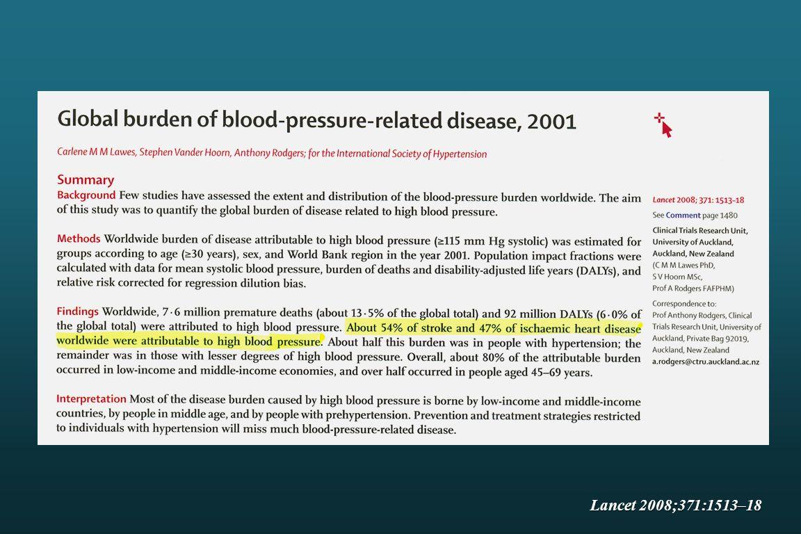 Jak provádět domácí měření TK Měření provádět vsedě v klidu, alespoň 2x po sobě, ráno a večer Měřit 7 dní v týdnu předcházejícím klinické kontrole Nemocný poučen, aby si sám neměnil léčbu Doporučujeme jen u nemocného, který nebude měřením neurotizován Hodnotíme průměr hodnot domácího měření Parati G et al., J Hypertension 2008