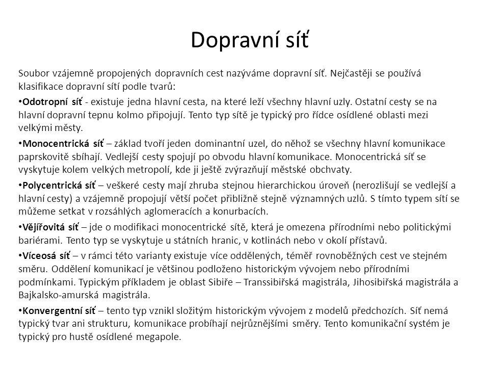 Vývoj v ČR Silnice dnešního významu 18.st. (Praha – Vídeň) – šířka 7,2 m.