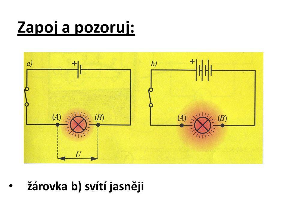 fyzikální veličina: ELEKTRICKÉ NAPĚTÍ značka veličiny: U základní jednotka: volt značka jednotky: V píšeme: U = 1 V