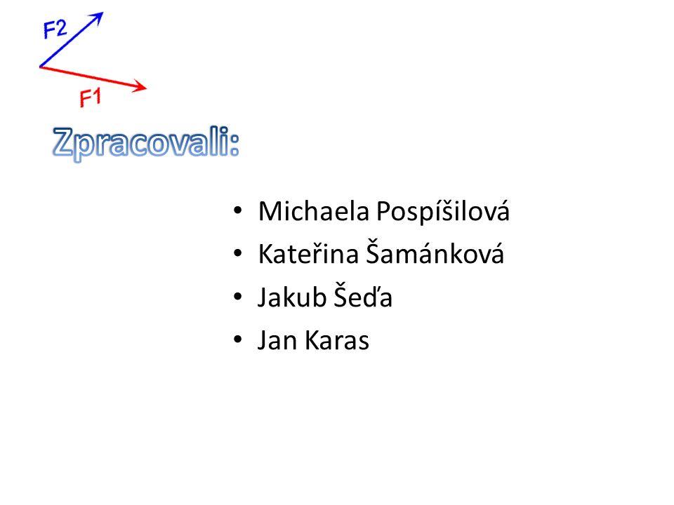 Michaela Pospíšilová Kateřina Šamánková Jakub Šeďa Jan Karas