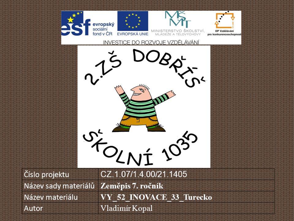 Číslo projektu CZ.1.07/1.4.00/21.1405 Název sady materiálů Zeměpis 7.