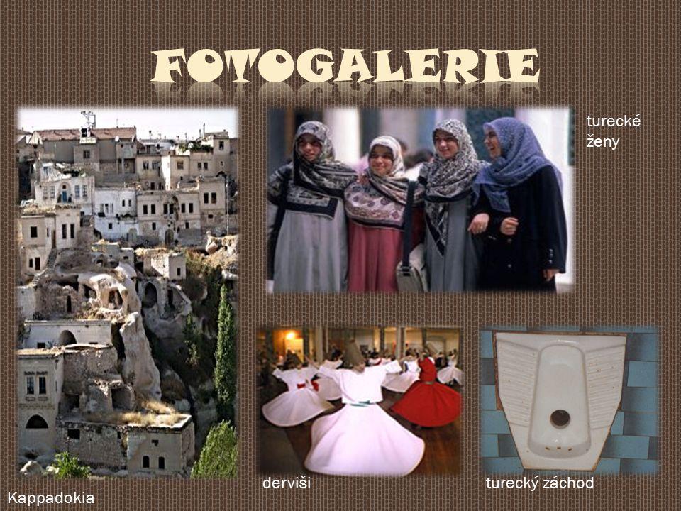 Kappadokia dervišiturecký záchod turecké ženy