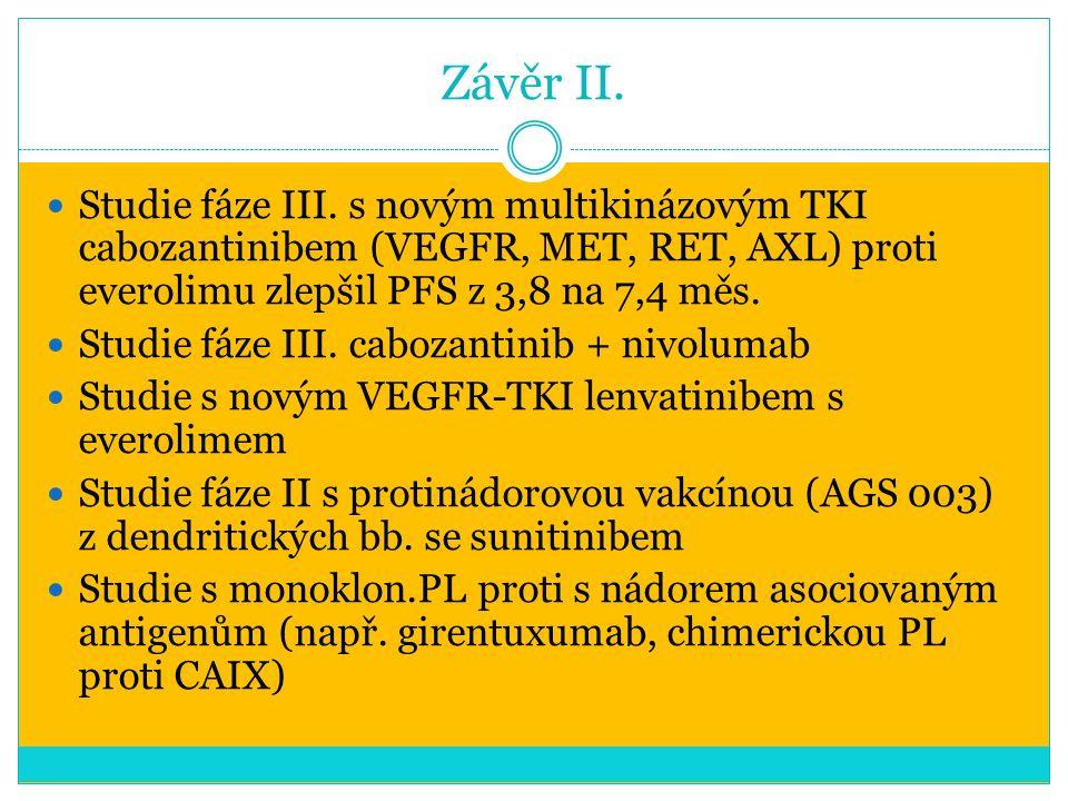 Závěr II. Studie fáze III.