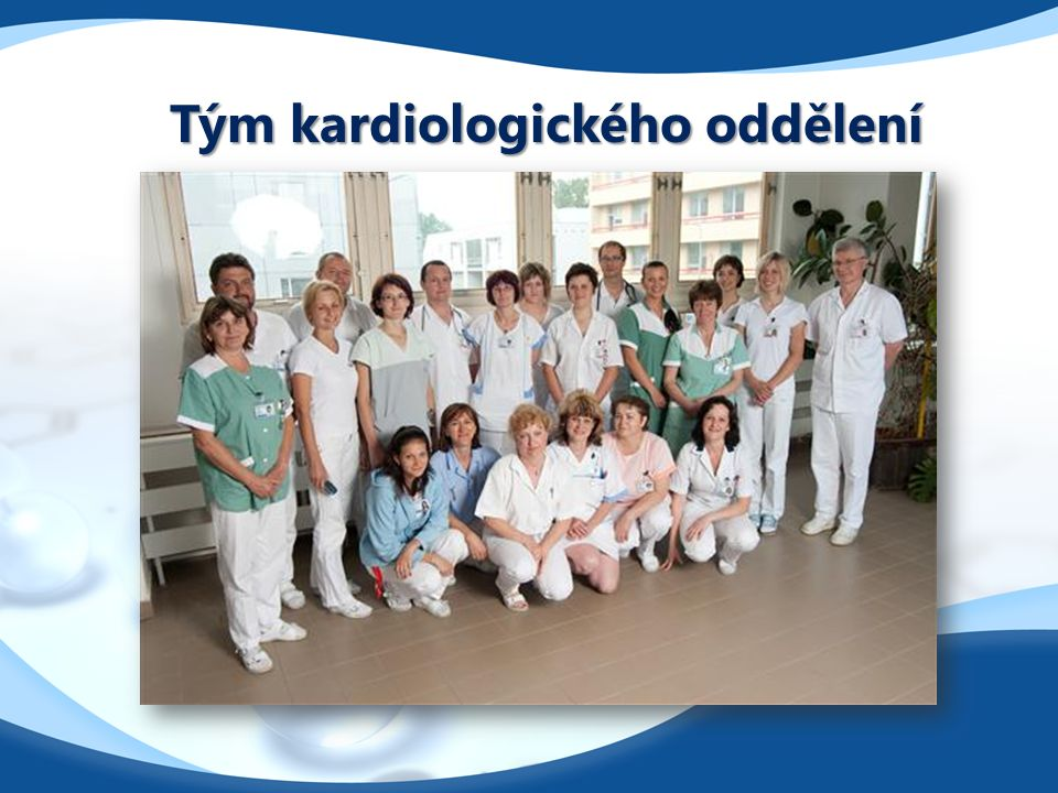 Tým kardiologického oddělení
