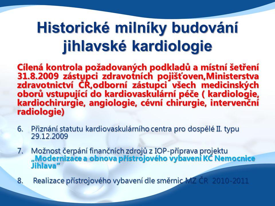 D ŮVODY PRO BUDOVÁNÍ KARDIOCENTER Přetrvávající vysoká mortalita na kardiovaskulární choroby v ČR  600 úmrtí/100 00 obyv./rok  počet zemřelých na KVO v ČR 60 000 /rok  více než 50% všech úmrtí v ČR  49% mužů, 54% žen  podíl ICHS na kardiovaskulární mortalitě 50%  cévní onemocnění mozku 30%
