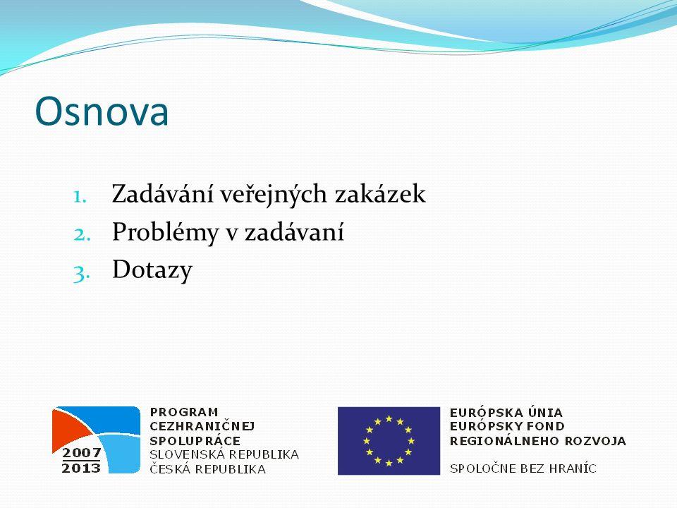 Verejné obstarávanie  Základné predpisy  Zákon č.