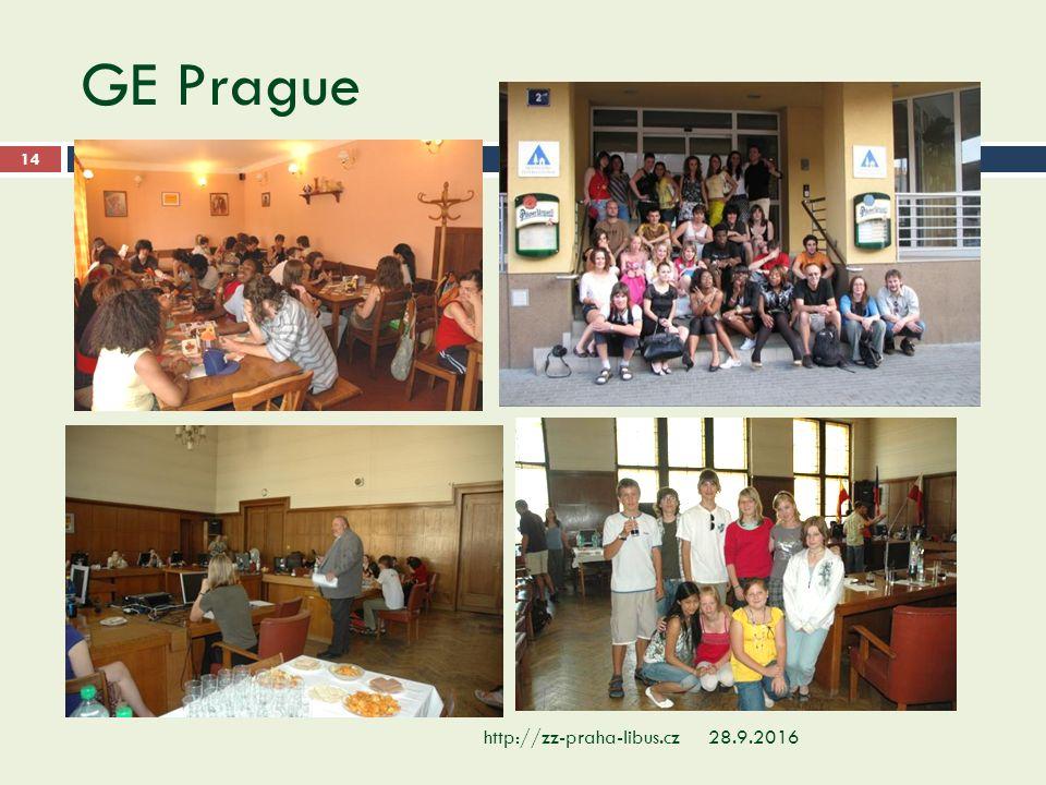 GE Prague 28.9.2016http://zz-praha-libus.cz 14